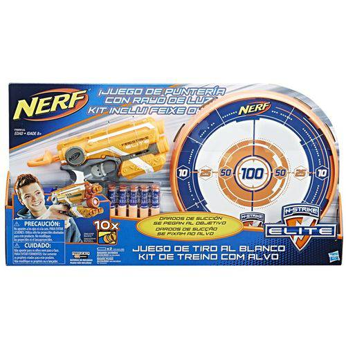 Nerf N-Strike com Alvo