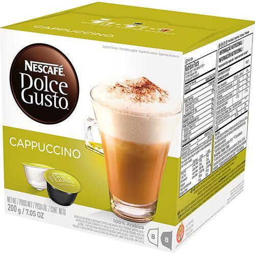 Nescafé Dolce Gusto Cappuccino - 16 Cápsulas (8 Leite + 8 Café) - Nestlé