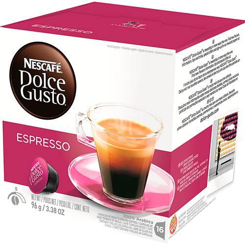 Nescafé Dolce Gusto Espresso - 16 Cápsulas - Nestlé