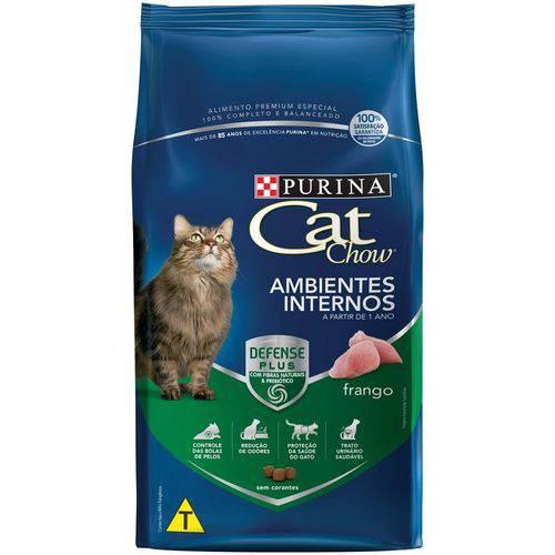 Nestle Purina Cat Chow Racao Seca para Gatos Adultos Ambientes Internos Frango 10.1kg