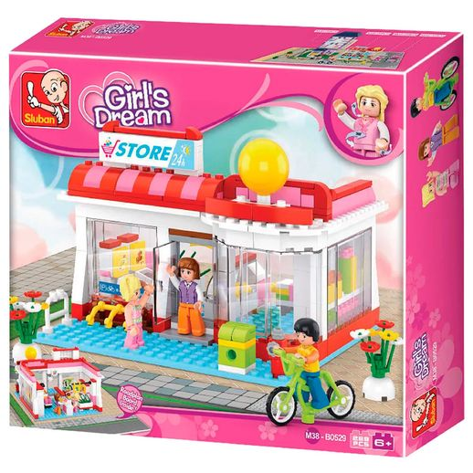 New Girls Dream Supermercado 289 Peças - Multikids