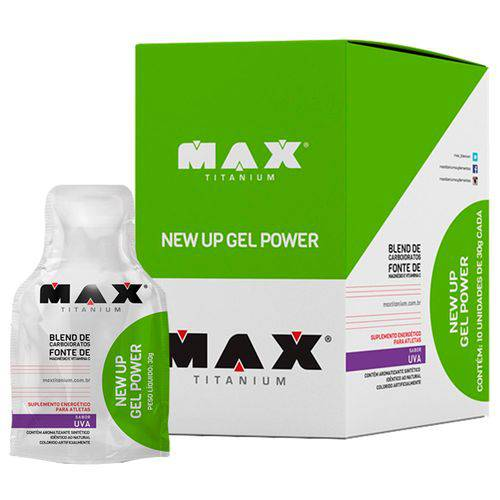 New Up Gel (10 Und) - Max Titanium