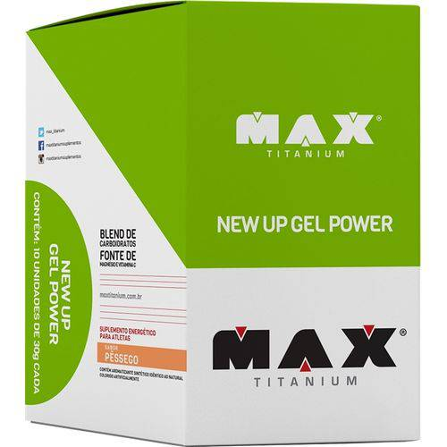 New UP Gel Power (10 Sachês) - Max Titanium