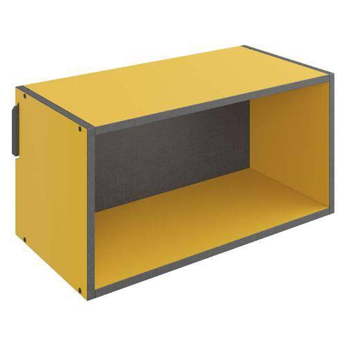 Nicho 1003 Mov 29,5 X 59,5 X 29,5 Amarelo - Be Mobiliário