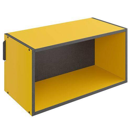 Nicho Grande Mov – Be Mobiliário - Amarelo / Carbono
