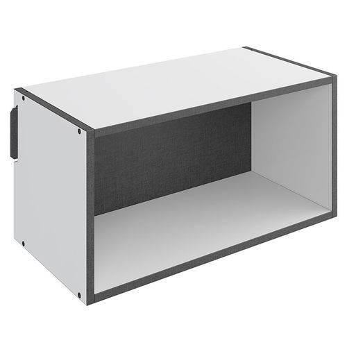 Nicho Grande Mov – Be Mobiliário - Branco / Carbono