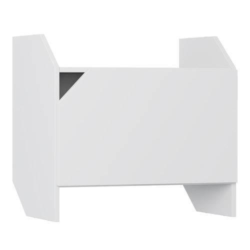 Nicho Modulado com Porta 60 Cm 1002 Soul Branco - Bentec