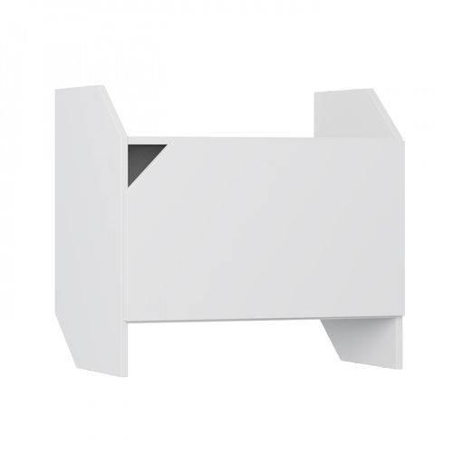 Nicho Modulado com Porta Soul Be Mobiliário Branco