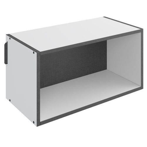 Nicho Retangular Decorativo Mov Branco - Be Mobiliário