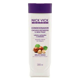Nick & Vick Nutri-Hair Cachos Definidos e Sem Frizz - Condicionador 300ml
