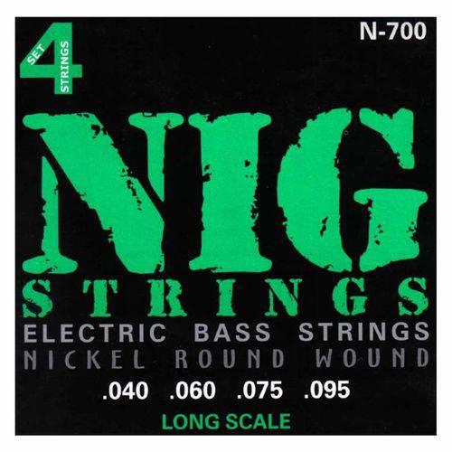 Nig - Encordoamento para Contrabaixo 4 Cordas N700