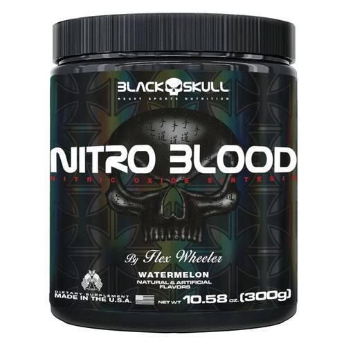 Nitro Blood 300g Melancia - Black Skull