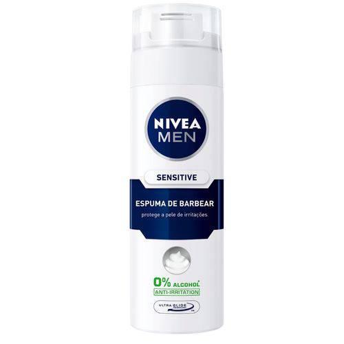 Nivea Men Espuma de Barbear Sensitive 200ml