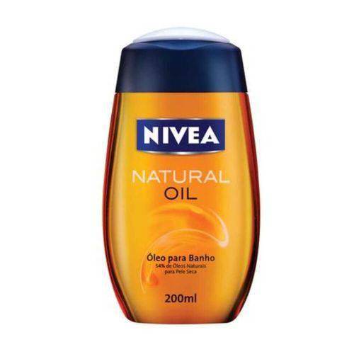 Nivea Natural Oil Sabonete Líquido 200ml