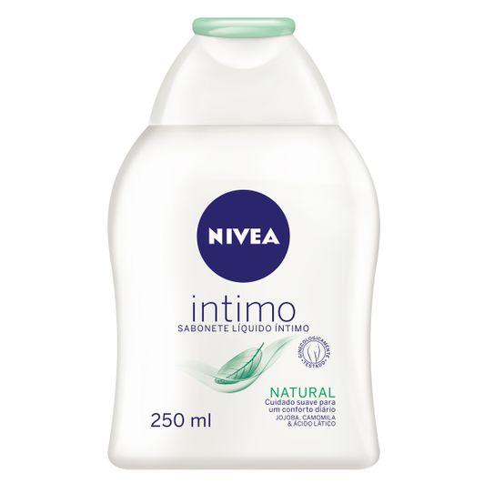 Nivea Natural Sabonete Íntimo Líquido 250ml