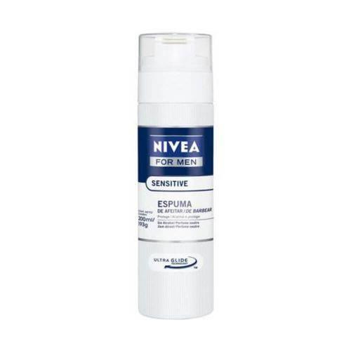 Nivea Sensitive Espuma de Barbear 200ml