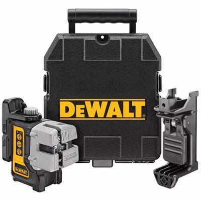 Nível Laser Auto Nivelador em Linha 3 Pontos DEWALT DW089K DW089K-Dewalt