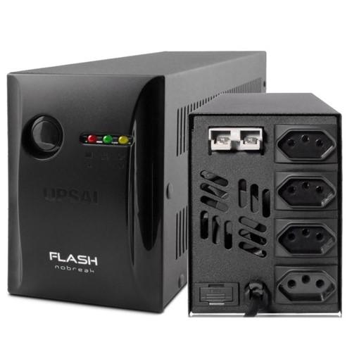 Nobreak Flash+ Mini 600VA Bivolt 04 Tomadas E115/230v-s115v 51070626 UPSAI