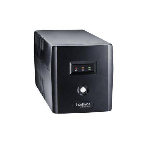 Nobreak Intelbras Interactive Xnb 1200va Mono 220v Preto