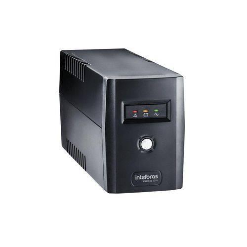 Nobreak Intelbras Interactive Xnb 600va Mono 120v Preto