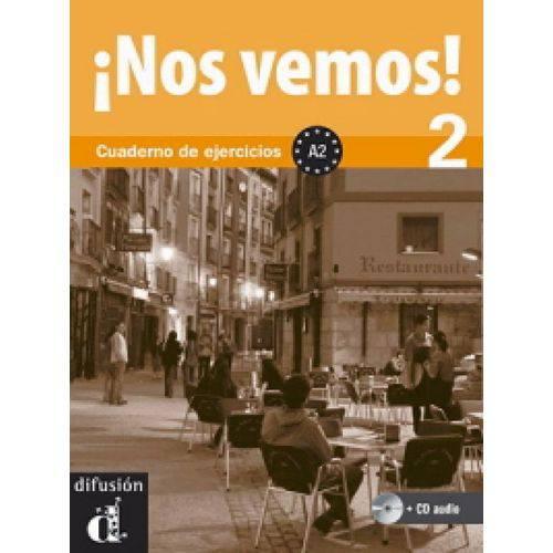 ¡nos Vemos! A2 - Cuaderno de Ejercicios Con Cd Audio - Difusion