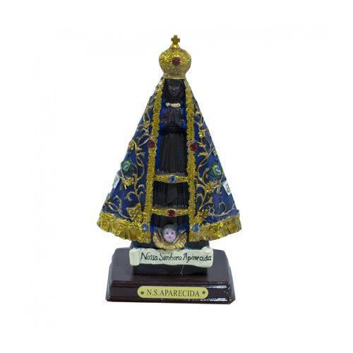 Nossa Senhora Aparecida 15cm - Enfeite Resina