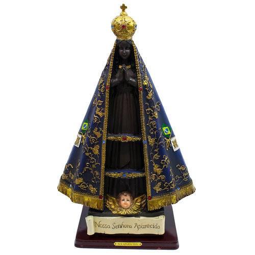 Nossa Senhora Aparecida 41cm - Enfeite Resina