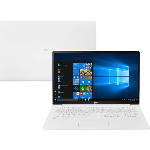 "Notebook LG Gram Intel Core 8ª I7 8GB 256GB SSD Tela Full HD 15,6"" Windows 10 - Branco"