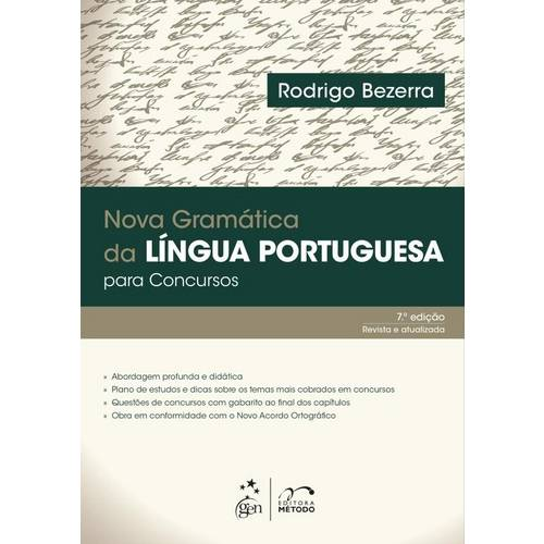 Nova Gramatica da Lingua Portuguesa para Concursos