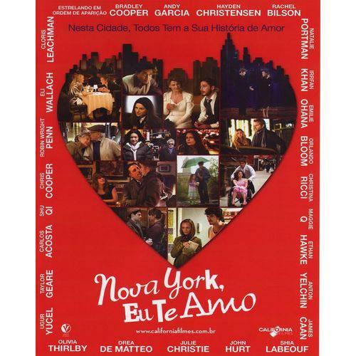 Nova York, eu te Amo - Dvd