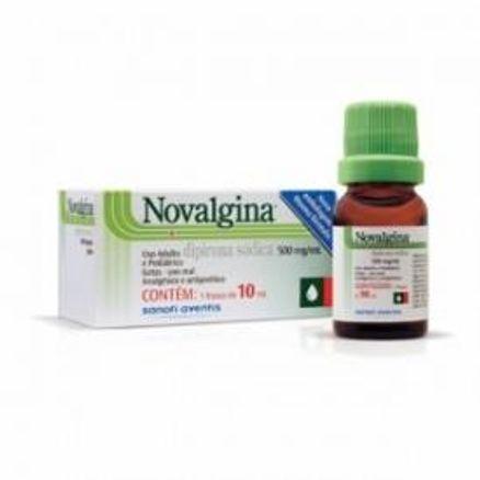 Novalgina 500mg/mL Solução Oral 10mL