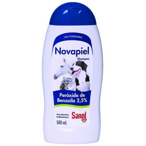 Novapiel Shampoo Sanol Dog - 500 Ml