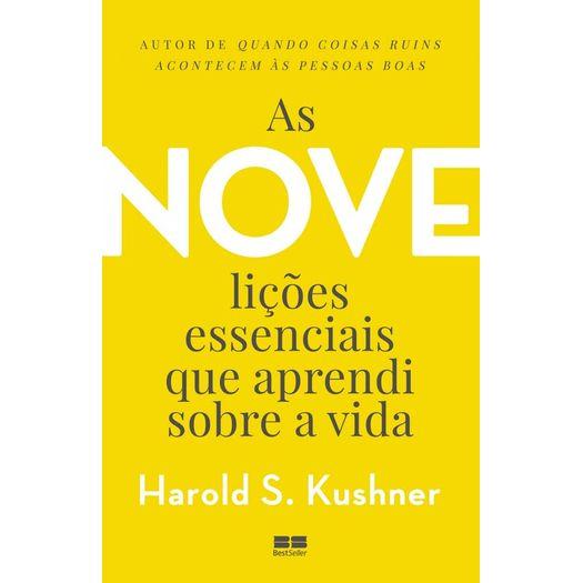 Nove Licoes Essenciais que Aprendi Sobre a Vida, as - Best Seller