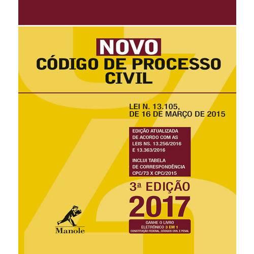 Novo Codigo de Processo Civil - 03 Ed