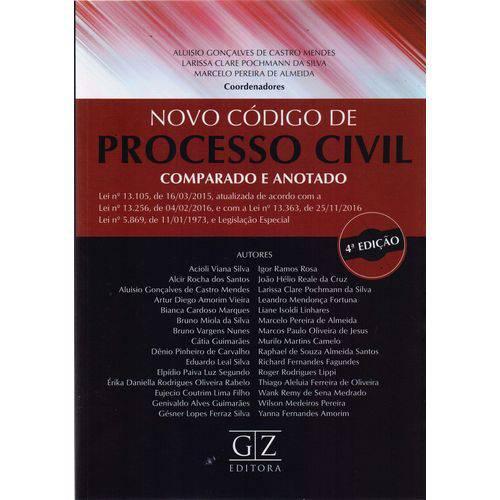 Novo Codigo de Processo Civil - 04ed/17