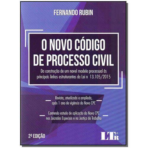 Novo Código de Processo Civil 02ed/17
