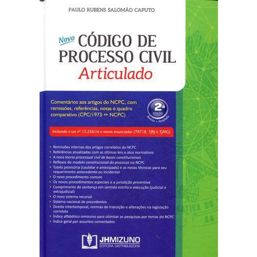 Novo Código de Processo Civil Articulado - 2ª Ed.