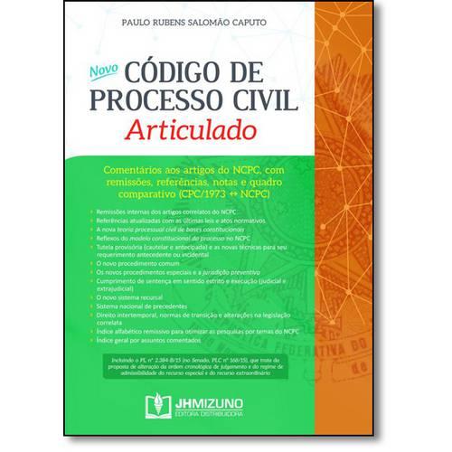 Novo Código de Processo Civil Articulado