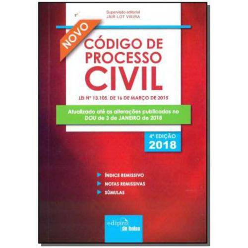 Novo Código de Processol Civil - Mini
