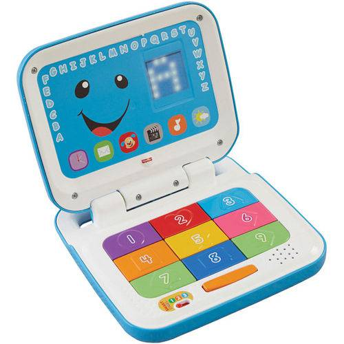 Novo Laptop Aprender e Brincar Azul - Fisher Price