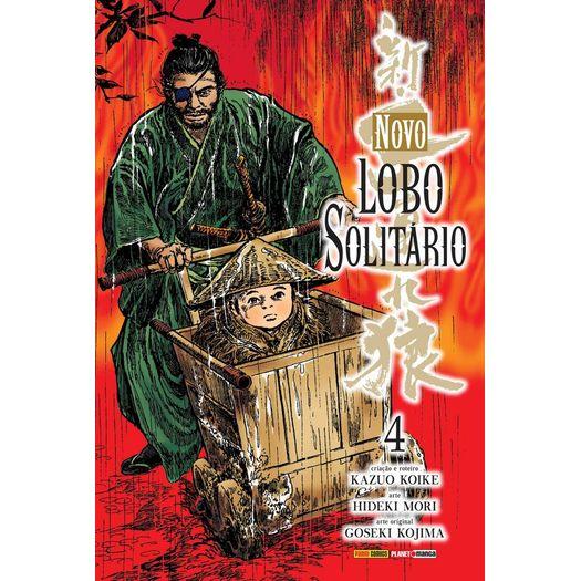Novo Lobo Solitario - Vol 4 - Panini