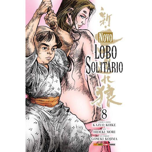 Novo Lobo Solitario - Vol 8 - Panini