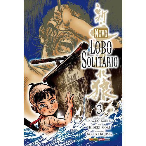 Novo Lobo Solitario - Vol 3 - Panini