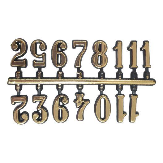 Número para Relógio Dourado