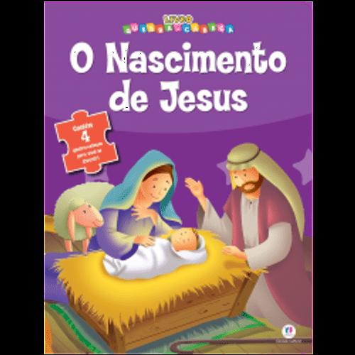 O Nascimento de Jesus - Livro Quebra Cabeças o Nascimento de Jesus