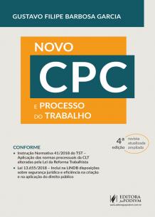 O Novo CPC e o Processo do Trabalho (2019)