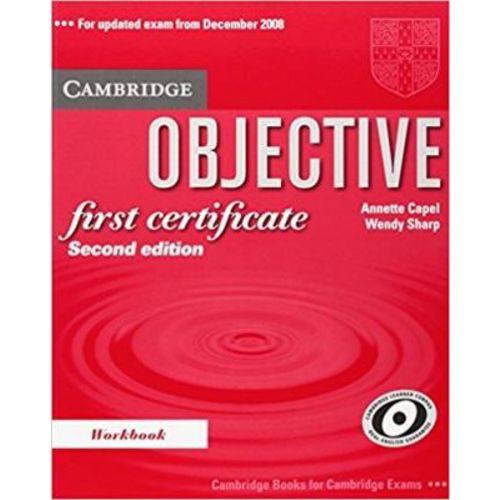 Objective First Certificate - Workbook - Second Edition - Cambridge University Press - Elt