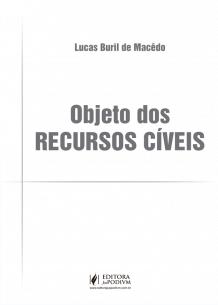 Objeto dos Recursos Cíveis (2019)