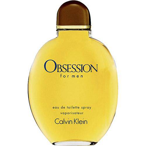 Obsession For Men Eau de Toilette Masculino 125ml - Calvin Klein