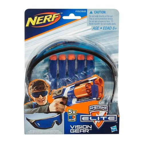 Oculos + 05 Dardos Nerf Vision Gear Hasbro